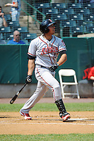Richmond Flying Squirrels infielder  Ricky Oropesa (22) during game against the New Britain Rock Cats at New Britain Stadium on May 30, 2013 in New Britain, CT.  New Britain defeated Richmond 2-1.  (Tomasso DeRosa/Four Seam Images)