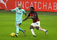 Milano  09-01-2021<br /> Stadio Giuseppe Meazza<br /> Campionato Serie A Tim 2020/21<br /> Milan - Torino<br /> nella foto:  Zaza Franck Kessie                                                        <br /> Antonio Saia Kines Milano