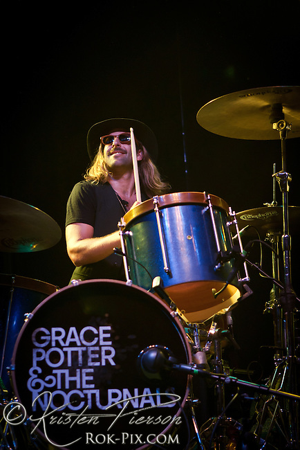 Grace Potter and the Nocturnals performing in Newport RI on August 11, 2011