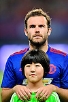 Manchester United forward Juan Mata during the International Champions Cup China 2016, match between Manchester United vs Borussia  Dortmund on 22 July 2016 held at the Shanghai Stadium in Shanghai, China. Photo by Marcio Machado / Power Sport Images