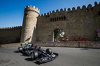 4th June 2021; Baku, Azerbaijan; Free practise sessions;  22 TSUNODA Yuki jap, Scuderia AlphaTauri Honda AT02, action during the Formula 1 Azerbaijan Grand Prix 2021 at the Baku City Circuit, in Baku, Azerbaijan