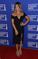 Gina Rodriguez @ the HFPA Annual grants banquet held @ the Regent Beverly Wilshire hotel.<br /> August 4, 2016