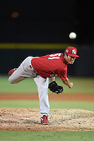 Palm Beach Cardinals pitcher Chris Perry (51) delivers a pitch during a game against the Lakeland Flying Tigers on April 13, 2015 at Joker Marchant Stadium in Lakeland, Florida.  Palm Beach defeated Lakeland 4-0.  (Mike Janes/Four Seam Images)