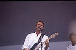 Live Aid 1985 Wembley Stadium, London , England. Sting , Branford Marsalis
