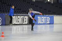 SCHAATSEN: HEERENVEEN, 13-10-2019, IJsstadion Thialf, Clubwedstrijden, ©foto Martin de Jong