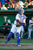 Keibert Ruiz (31) of the Ogden Raptors during the game against the Billings Mustangs in Pioneer League action at Lindquist Field on August 12, 2016 in Ogden, Utah. Billings defeated Ogden 7-6. (Stephen Smith/Four Seam Images)