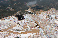 Summit of Pikes Peak. Feb 2013