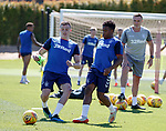 24.06.2019 Rangers training in Algarve: George Edmundson