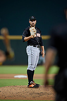 Jupiter Hammerheads relief pitcher Daniel Castano (21) during a Florida State League game against the Bradenton Marauders on April 19, 2019 at LECOM Park in Bradenton, Florida.  Bradenton defeated Jupiter 7-1.  (Mike Janes/Four Seam Images)