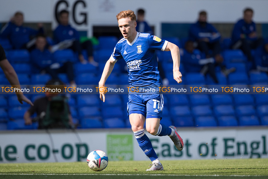 Jon Nolan of Ipswich Town runs at the defence during Ipswich Town vs Wigan Athletic, Sky Bet EFL League 1 Football at Portman Road on 13th September 2020