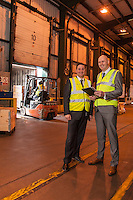 Pictured are Dave Smith and Nick Setaro from Kuehne + Nagel