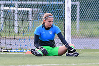 goalkeeper Josephine Delvaux of Racing Genk pictured during a female soccer game between Club Brugge Dames YLA and Racing Genk Ladies on the second matchday of the 2020 - 2021 season of Belgian Scooore Women s SuperLeague , saturday 5 th of September 2020  in Brugge , Belgium . PHOTO SPORTPIX.BE | SPP | DAVID CATRY