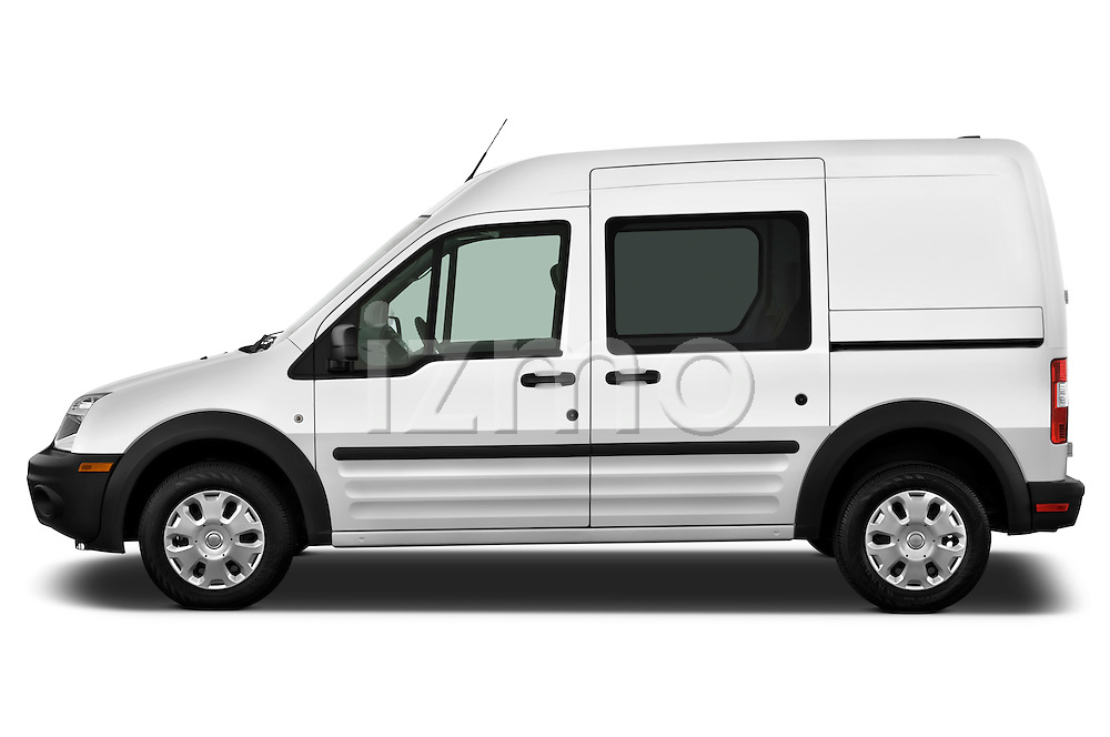 Driver side profile view of a 2010 Ford Transit XL Wagon.