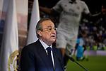 Florentino Perez during the Official presentation of Mariano Diaz at Estadio Santiago Bernabeu in Madrid, Spain. August 31, 2018. (ALTERPHOTOS/A. Perez Meca)