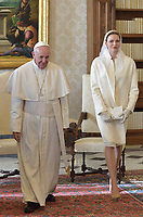 The privilege of the white is a special privilege granted to Catholic queens