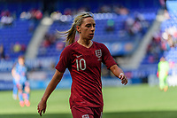 HARRISON, NJ - MARCH 08: Jordan Nobbs #10 of England during a game between England and Japan at Red Bull Arena on March 08, 2020 in Harrison, New Jersey.
