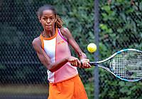 Hilversum, Netherlands, August 8, 2018, National Junior Championships, NJK, Jayden Lonwijk (NED)<br /> Photo: Tennisimages/Henk Koster
