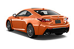 Car pictures of rear three quarter view of 2017 Lexus RC F-GT 2 Door Coupe Angular Rear