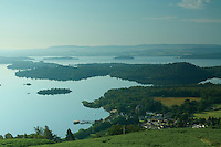 Luss and Loch Lomond from Beinn Dubh, Loch Lomond and the Trossachs National Park, Argyll & Bute<br /> <br /> Copyright www.scottishhorizons.co.uk/Keith Fergus 2011 All Rights Reserved