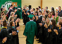 The 2013 Woodlawn School Commencement in Davidson, NC.