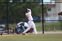 Thomas Lemmerman (66) of Bishop Verot High High School in N Fort Myers, Florida during the Under Armour Baseball Factory National Showcase, Florida, presented by Baseball Factory on June 12, 2018 the Joe DiMaggio Sports Complex in Clearwater, Florida.  (Nathan Ray/Four Seam Images)