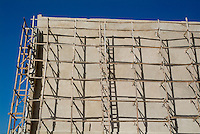 New building under construction in Havana, Cuba.