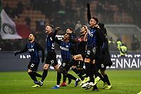 Inter players celebrate at the end of the match <br /> Milano 26-12-2018 Stadio San Siro Football Calcio Serie A 2018/2019 Inter - Napoli <br /> Foto Image Sport / Insidefoto