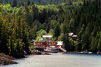 The End of the Line. Telegraph Cove, Vancouver Island, Canada