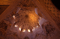 Sala de los Abencerrajes im Harem der Alhambra in Granada aus dem 14.Jh, Spanien, Andalusien, Spanien, Unesco-Weltkulturerbe