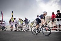 the Mont Ventoux is teh one obstacle too much for Victor Campenaerts (BEL/Qhubeka NextHash) as he will abandon the race after the first ascent<br /> <br /> Stage 11 from Sorgues to Malaucène (199km) running twice over the infamous Mont Ventoux<br /> 108th Tour de France 2021 (2.UWT)<br /> <br /> ©kramon