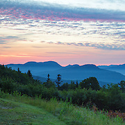 This is the image for June in the 2016 White Mountains New Hampshire calendar. C.L. Graham Wangan Grounds Scenic Overlook along the Kancamagus Highway in the White Mountains, New Hampshire USA. The calendar can be purchased here: http://bit.ly/17LpoRV