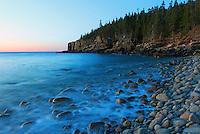 Dawn Otter Cliffs #A58