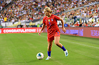 PHILADELPHIA, PA - AUGUST 29: Lindsey Horan #9 of the United States during a game between Portugal and USWNT at Lincoln Financial Field on August 29, 2019 in Philadelphia, PA.