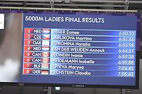 OLYMPIC GAMES: PYEONGCHANG: 16-02-2018, Gangneung Oval, Long Track, 5.000m Ladies, Final Results, ©photo Martin de Jong