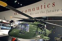 - stand Finmeccanica (Italy): models of military helicopters ....- stand Finmeccanica (Italia): modelli di elicotteri militari