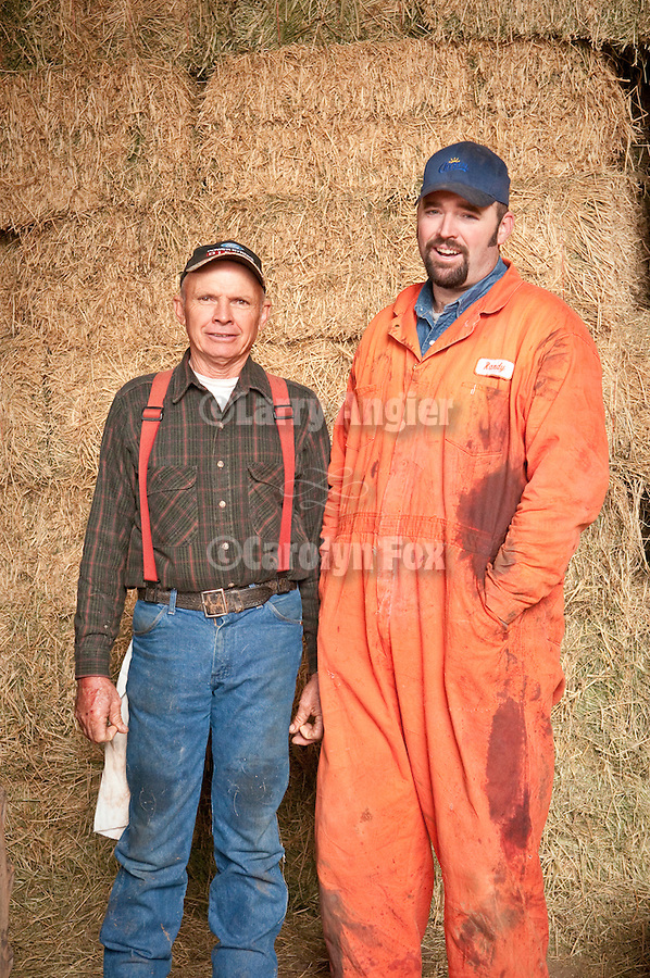 Families gather after Christmas at the Cuneo Ranch in California's Mother Lode. David and his son Randy