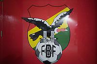 Orlando, FL - Monday June 06, 2016: Bolivia locker room prior to a Copa America Centenario Group D match between Panama (PAN) and Bolivia (BOL) at Camping World Stadium.