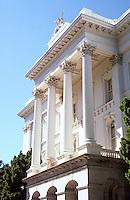 Sacramento CA: State Capitol, South Porch.