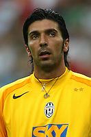Milano 27/7/2004 Trofeo Tim - Tim tournament <br /> <br /> <br /> <br /> Gianluigi Buffon (Juventus)<br /> <br /> <br /> <br /> Inter Milan Juventus <br /> <br /> Inter - Juventus 1-0<br /> <br /> Milan - Juventus 2-0<br /> <br /> Inter - Milan 5-4 d.cr - penalt.<br /> <br /> <br /> <br /> Photo Andrea Staccioli Insidefoto