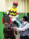 TOYOAKE,JAPAN-JUN 5: Unicorn Lion,ridden by Ryusei Sakai, after winning the Naruo Kinen at Chukyo Racecourse on June 5,2021 in Toyoake,Aichi,Japan. Kaz Ishida/Eclipse Sportswire/CSM