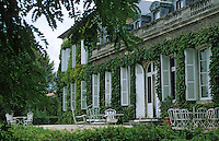 Europe/France/Aquitaine/33/Gironde/Saint-Julien: château Talbot (AOC Saint-Julien) - La façade