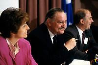 FILE -<br /> Jacques Parizeau circa 1985<br /> <br /> PHOTO  : Pierre Roussel - Agence Quebec Presse