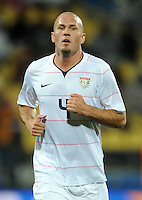 Conor Casey of USA. USA defeated Egypt 3-0 during the FIFA Confederations Cup at Royal Bafokeng Stadium in Rustenberg, South Africa on June 21, 2009.
