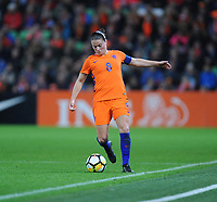 VOETBAL: GRONINGEN: Euroborg Stadion, 24-10-2017, vrouwenvoetbal Nederland - Noorwegen, uitslag 1- 0, Sherida Spitse, ©foto Martin de Jong