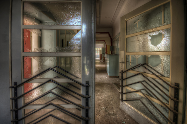 Abandoned hospital in the Black Forest.<br /> This place looked a lot better on the sat map.