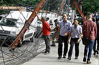 27.06.2019 - Incêndio em fiação elétrica na alameda Santos em SP