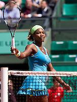 28-05-10, Tennis, France, Paris, Roland Garros, Serena Willims,