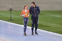 SPEED SKATING: HAMAR: Viking Skipet, 01-02-2019, ISU World Cup Speed Skating, Esmee Visser, Wouter olde Heuvel, ©photo Martin de Jong