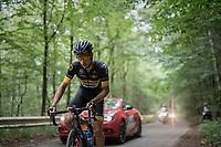 Quinten Hermans (BEL/Telenet Fidea Lions)<br /> <br /> Ster ZLM Tour (2.1)<br /> Stage 4: Hotel Verviers > La Gileppe (Jalhay)(190km)