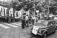 - demonstration for the right to the home (Milan, 1975)<br />